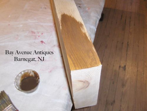 How to use American Paint Company Glazes to Create a Wood Stain Look