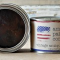 DARK WAX Our wax with natural pigments added to create an antique look