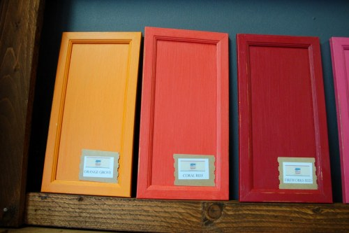 Orange Paint Coral Paint Red Paint Great Color Choices from the