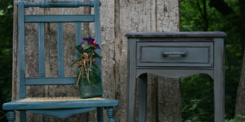 Painted Furniture – A Table and Chair