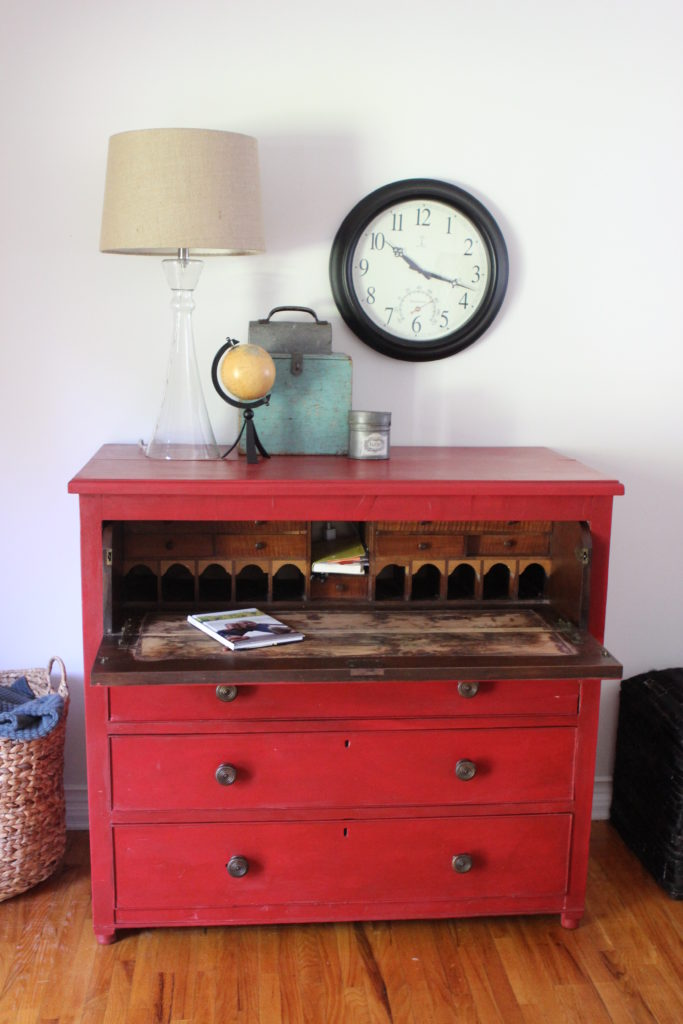 Painted Furniture Old English Desk American Paint Company