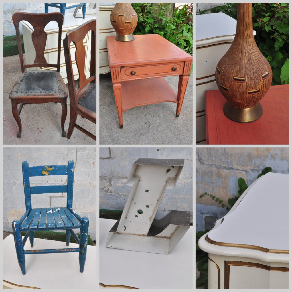 Various kinds of items that can be painted