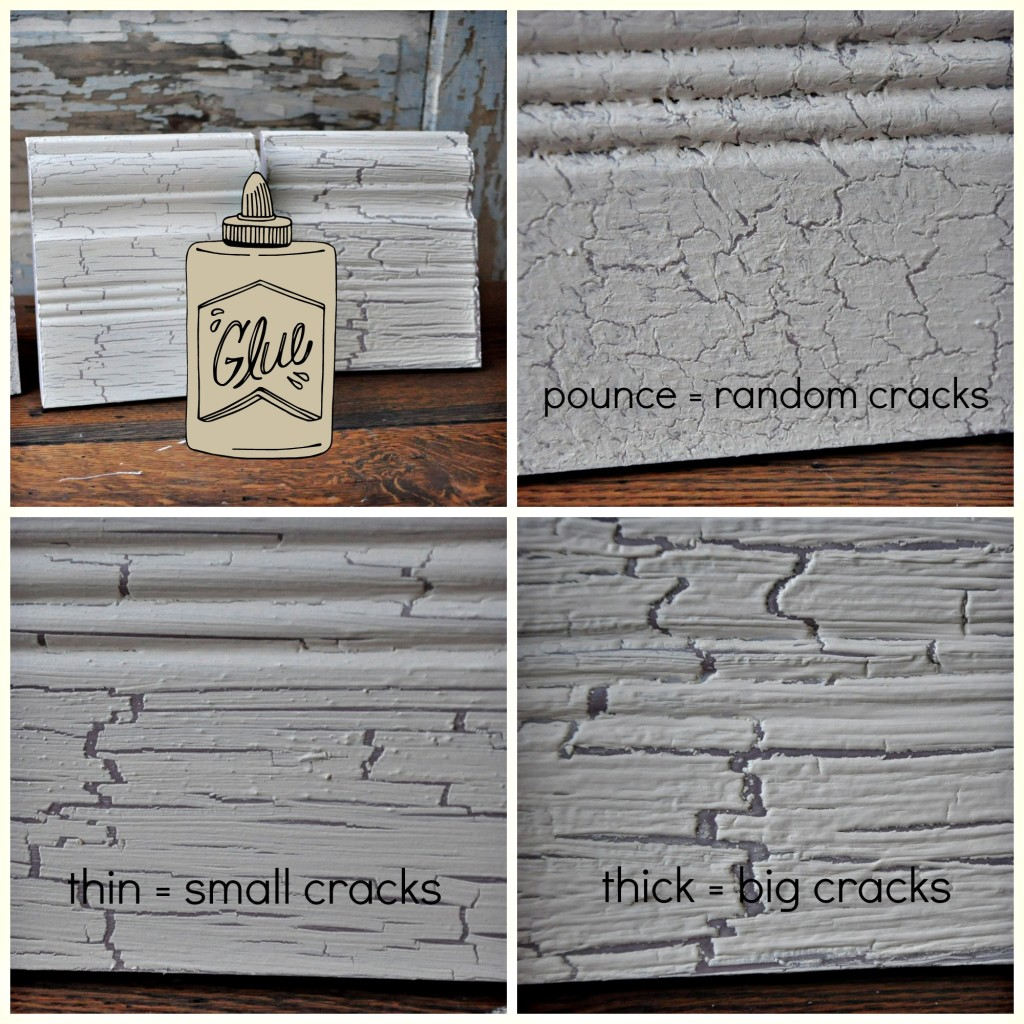 DIY Crackle Finish