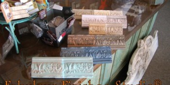Hand Painted Finishes – Using Mica and Grit