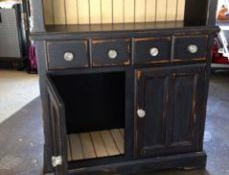 Painted Furniture – A Rescued Hutch