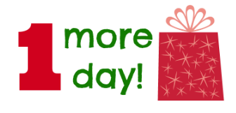 12 Days of Christmas – 1 more day!