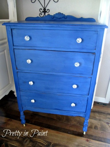 Dresser painted in Shining Seas