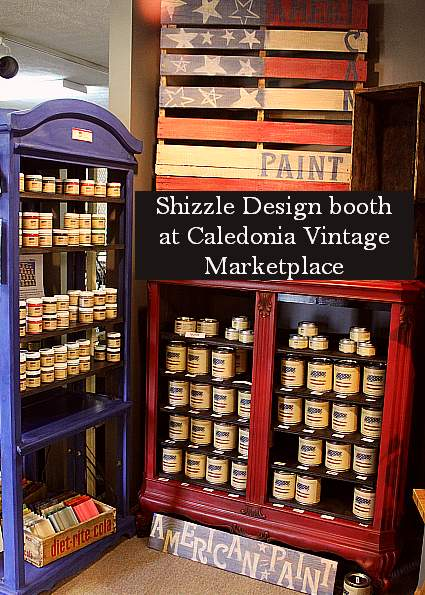 Caledonia Vintage Marketplace Shizzle Designs American Paint Company Paints chalk and clay paint Michigan colors Caledonia Vintage Marketplace