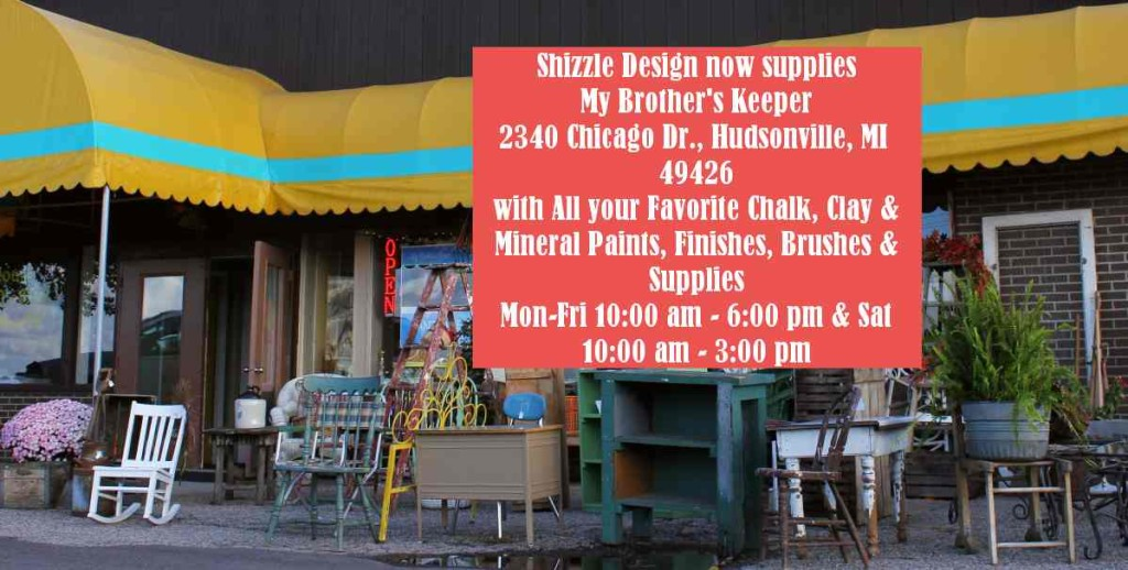 My Brother's Keeper Shizzle Design location in Hudsonville, MI 49426 American Paint Company CeCe Caldwell's Paints where to find chalk clay FB