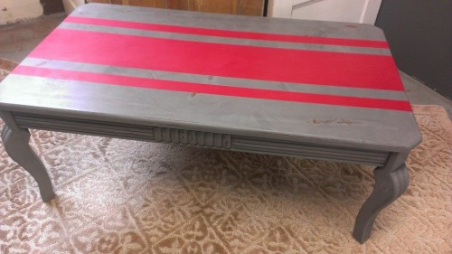 ohio state coffee table