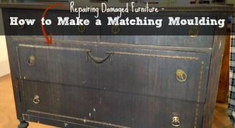 Repairing Damaged Furniture