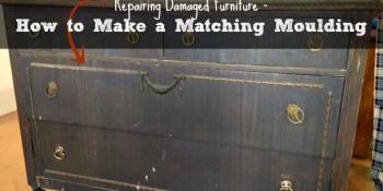 Repairing Damaged Furniture – Tip Tuesday