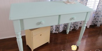 Fresh Painted Furniture Using American Paint Company Chalk and Clay Paint