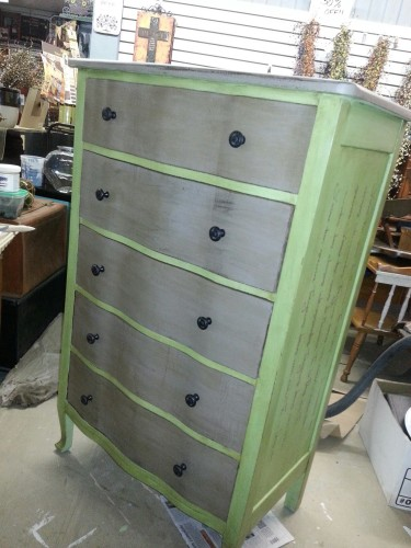 Fresh Painted Furniture Using American Paint Company Chalk And Clay Paint American Paint Company