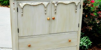 Painted Furniture Using Chalk and Clay Paint