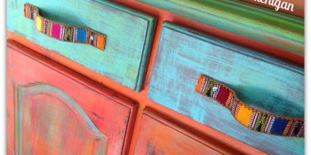 Painting Furniture Using Chalk and Clay Paint