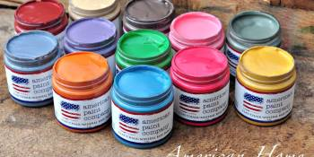 What have you painted today? American Home Collection