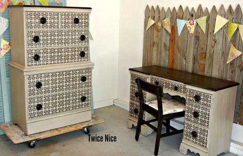 Twice Nice dresser and desk