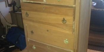 You Won't Believe how this $25 Dresser Looks After She Painted it