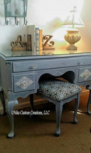 Nika Hipsher - UNika Custom Creations, LLC - Tarnished Platter