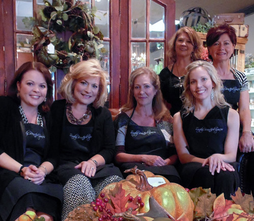 Simply Beautiful Spaces - the ladies - L to R Marissa Page, Kate Koch, Karla Gilason, Teri Twigg, Melody Hamlin, Ann Iwancio