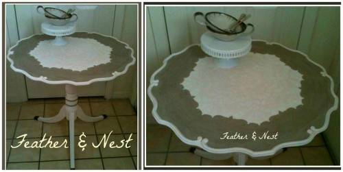 Pie Crust Table
