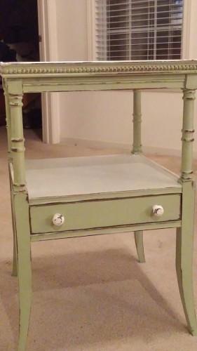 The Paint Locker table