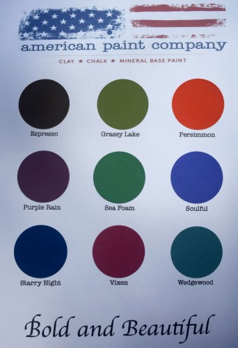 Bold and Beautiful Color Chart 9-17-15
