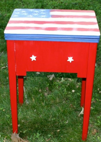 Painted Past Designs - Fireworks Red