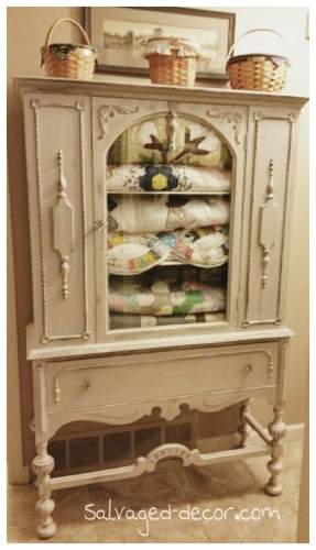 Salvaged Decor hutch