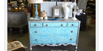 Fabulous Finishes Inc., Silver Leaf and American Paint Company Blues!