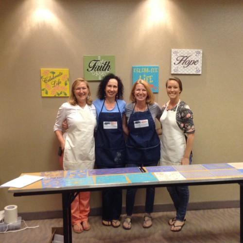 Paint Workshop for Cancer Patients