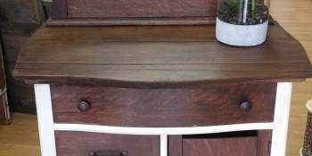 Transform Old Furniture with Natural Paint and Glaze