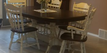 Repainting a Dining Room Table Set