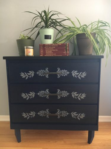 Transform a Beloved Antic Dresser into a Modern Looking Piece