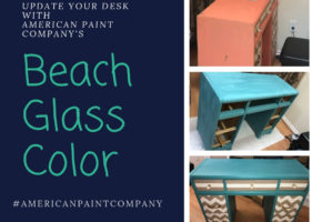 Update Your Desk with American Paint Company's Beach Glass Color