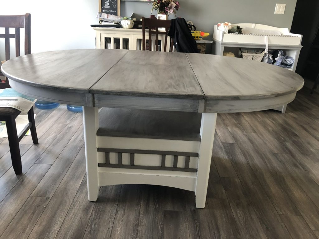 APC Glaze on Kitchen Table